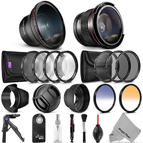 52mm Professional Accessory Kit For Nikon Dslr Bundle With Altura