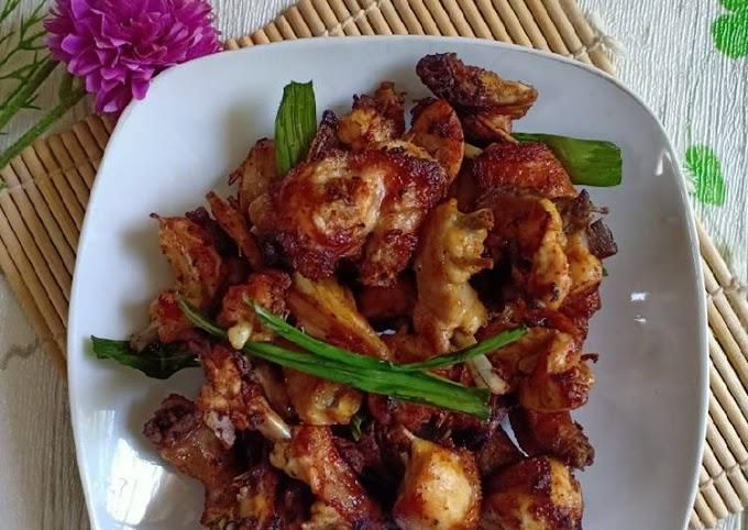 Resep Membuat Ayam Goreng Pandan Bikin Nagih