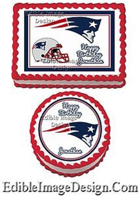 Patriots Edible Cake Decoration $9.99   Patriots Cakes