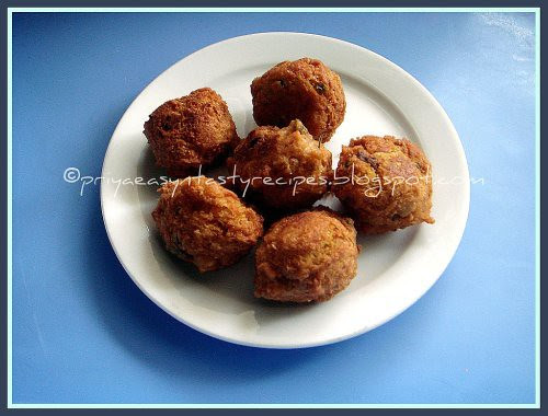 Chickpeas fritters