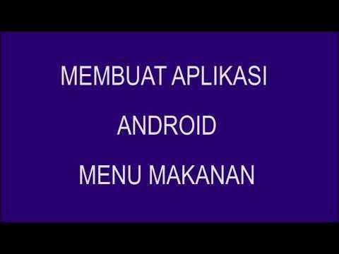 Membuat Aplikasi Menu Makanan dengan android Studio