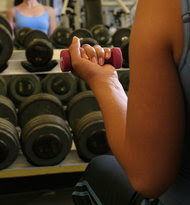 Light workouts may help after cancer.
