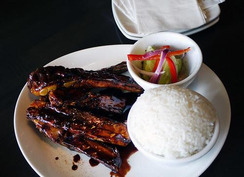 singapura coffee glazed ribs