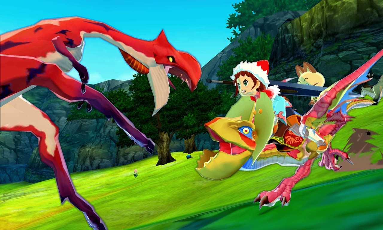 Monster Hunter Stories : nouvelles images