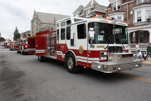 Tinicum Fire Company by Montgomery County Planning Commission