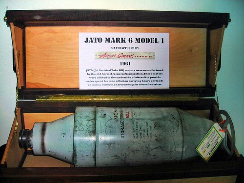 JATO MARK 6 MODEL 1; 1961 by S.R. Breitenstein