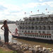 A Paddle-Wheeler Rolls On the Mississippi