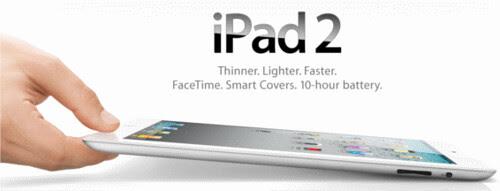 iPad 2 Arrives Tomorrow