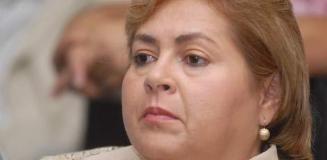 Bete de Dael foi encaminhada para a Delegacia da PF de Caruaru / Foto: Alexandre Severo / Acervo JC Imagem