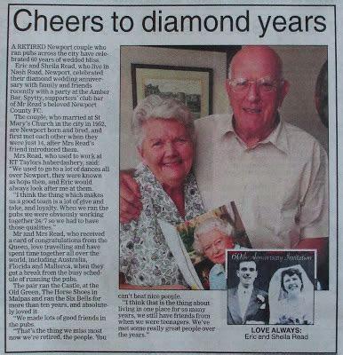 Brew Wales: Former Newport publicans celebrate diamond