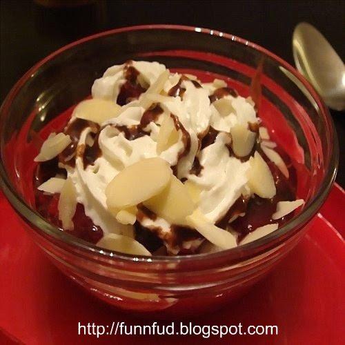 chocolate-raspberry-pudding