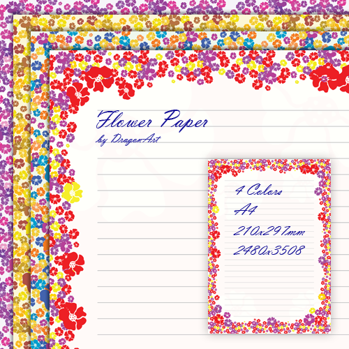 Free Simple Flower Border Designs For A4 Paper Download Free Clip Art Free Clip Art On Clipart Library