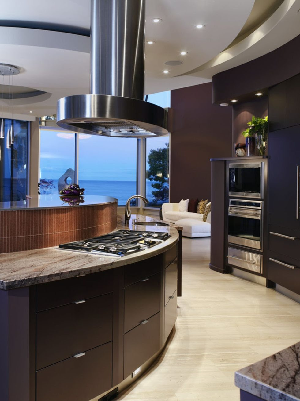 Hi-tech Kitchen design
