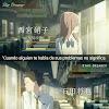 Koe No Katachi Frases De Amor