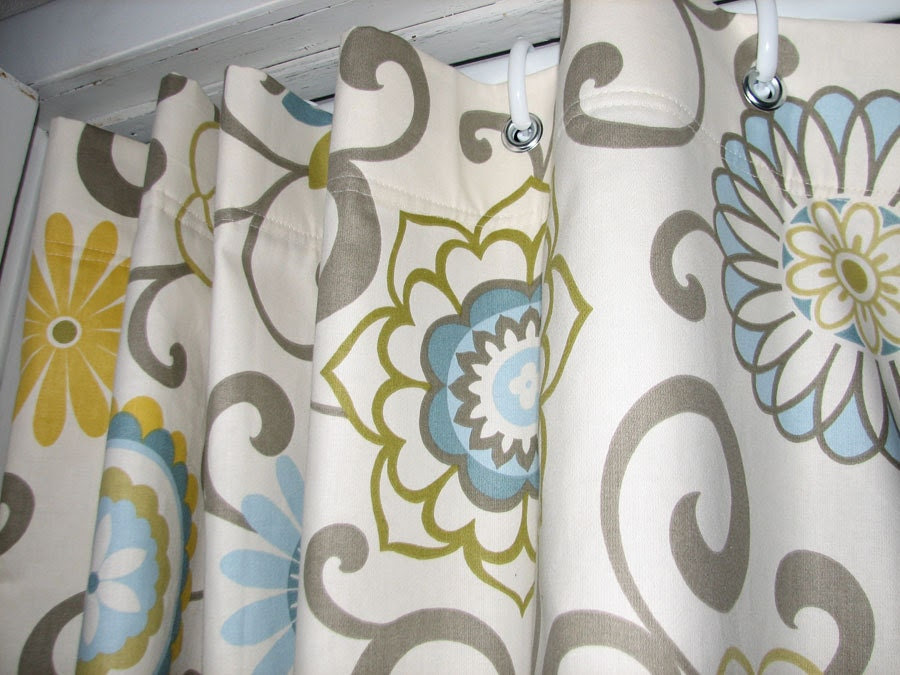 Pom Play Shower Stall Curtain By GiulianaDesign On Etsy
