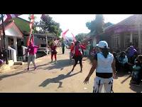 Pringati HUT RI Ke-73, Dusun Gudang Karang Desa Rambipuji Mengadakan Lomba Senam Antar Warga