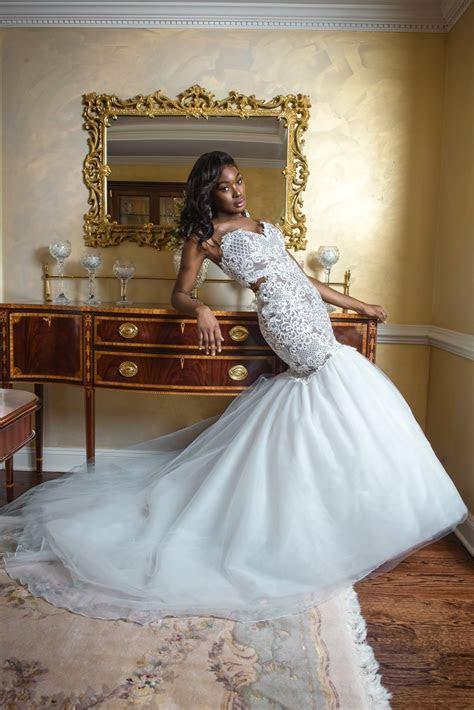 6 Black Wedding Dress Designers to Wear on the Big Day