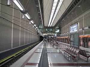 Agios Dimitrios/Aleksandros Panagoulis station...