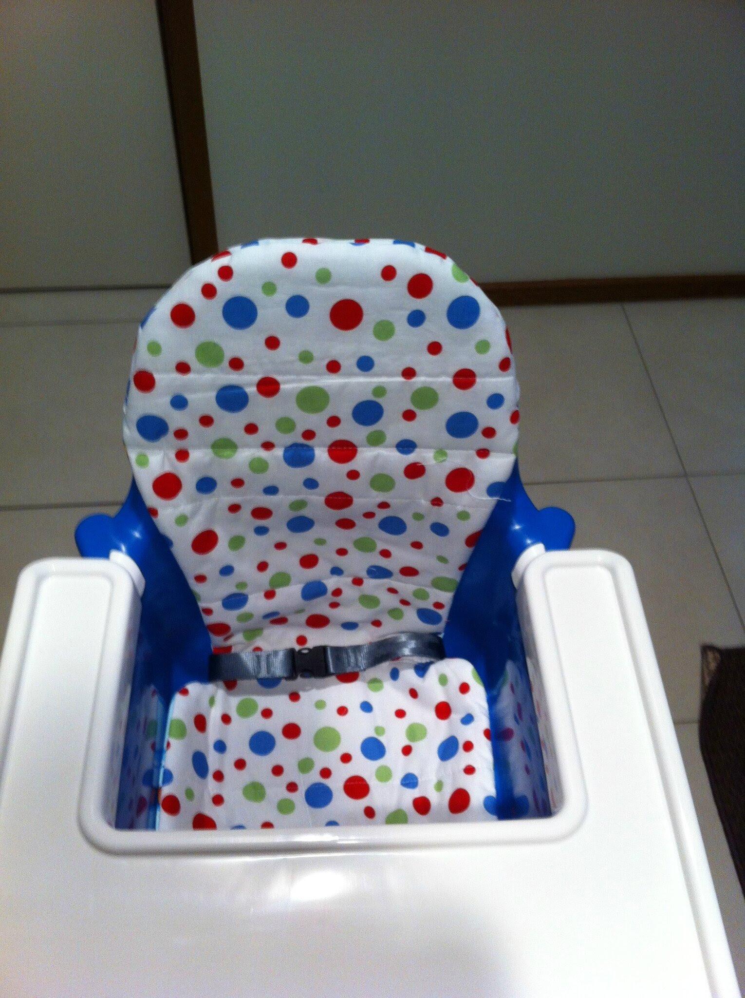 Le Coussin Reversible Pour Chaise Haute Ikea My New Little World