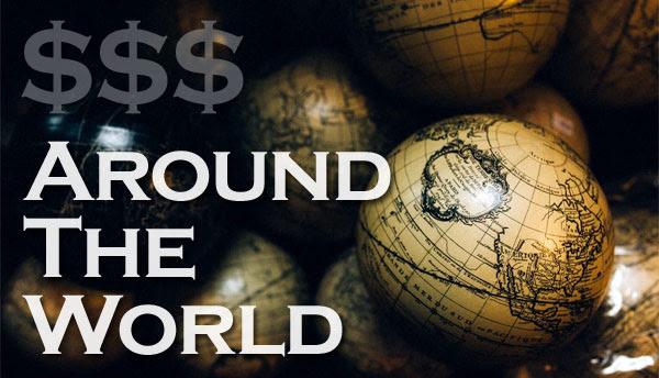 money around the world