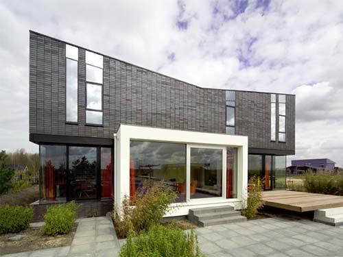 Modern Minimalist Brick House Design   Interior Design ...