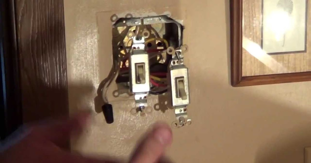 Two Way Double Light Switch Wiring Diagram