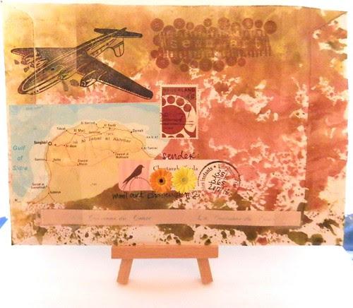 mail art 365-351 back by Miss Thundercat