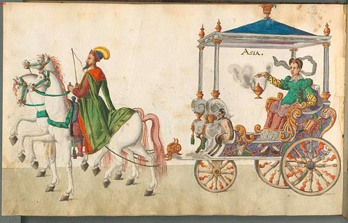 Beschreibung der historischen und allegorischen Personen 1596 (1600) (Asia chariot)