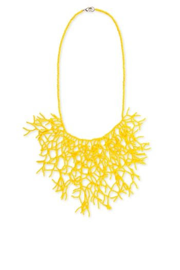 BCBGMAXAZRIA Draped Vine Necklace
