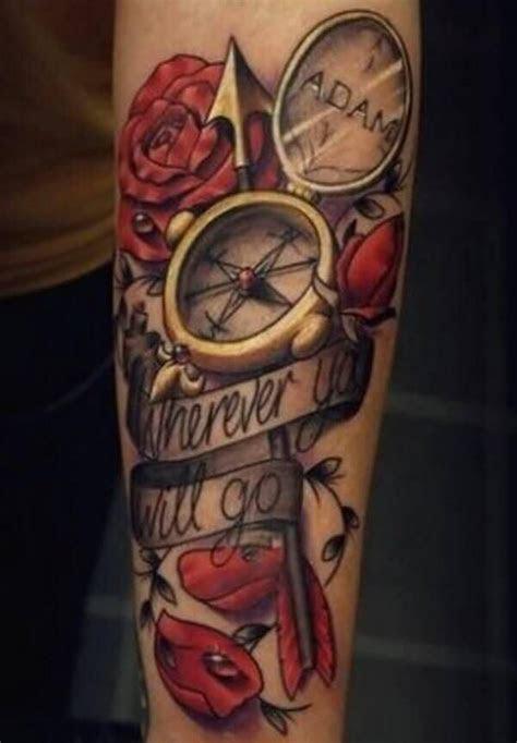 rip tattoos men compass rose tattoo elegant tattoos