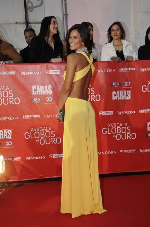 Cláudia Vieira - 17ª Gala dos Globos de Ouro Foto: Tiago Frazão/Lux