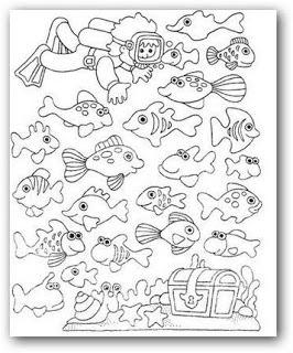 Imagenes Para Pintar Animales Del Mar