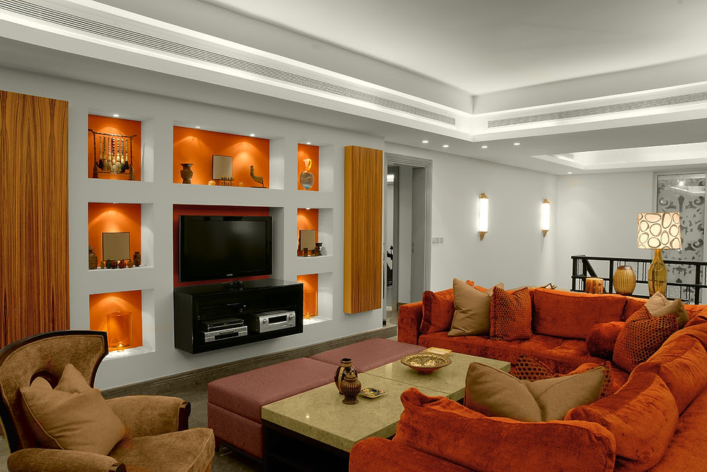 Ways To Beautify Your Home With Illuminated Wall Niches