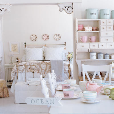 Shabby Chic Spring Decorating Ideas | Rustic Crafts & Chic Decor