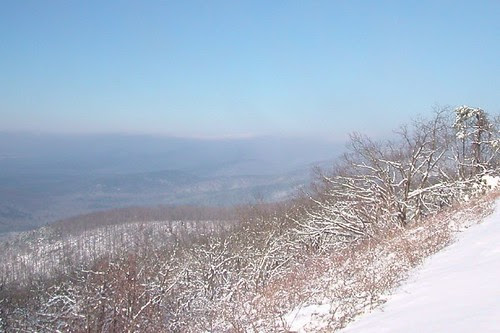 Smoky Winter Morning