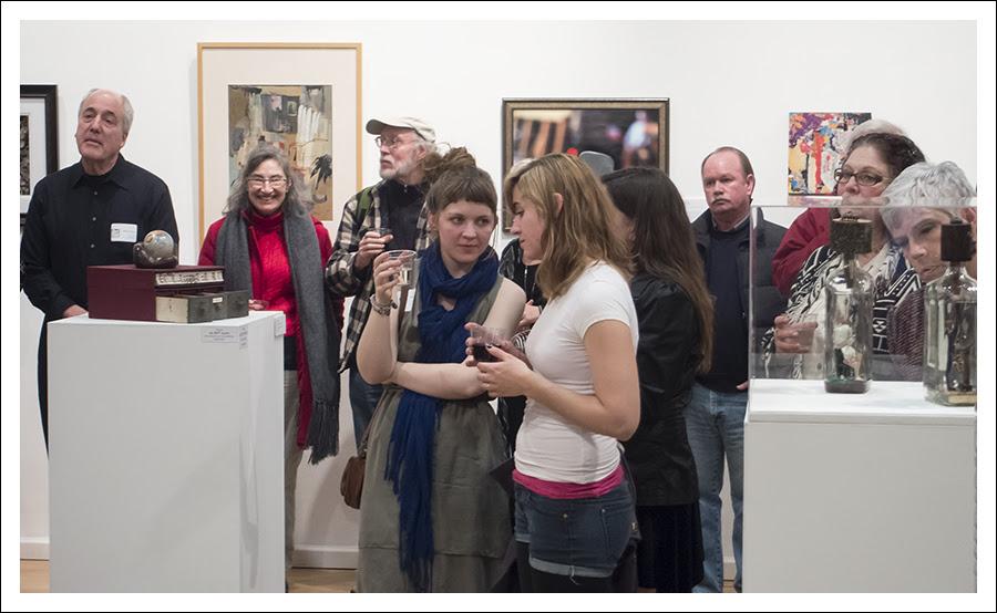 """Art St Louis Opening """"Misperception"""" 3"""