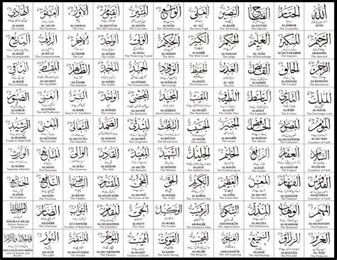 gambar kaligrafi asmaul husna terindah fiqih muslim