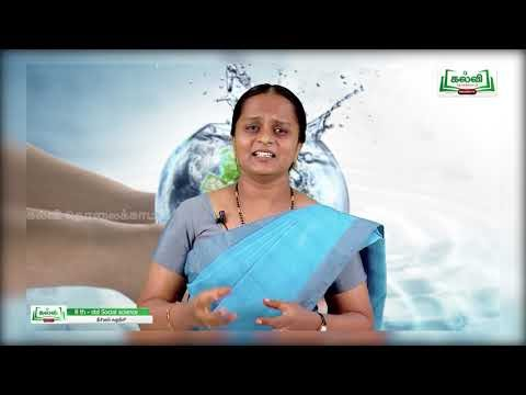 8th Social Science நீரியியல் சுழற்சி அலகு 3 பகுதி 2 Kalvi TV