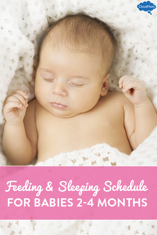 Baby Feeding and Sleeping Schedule: Breastfeeding 2 to 4-Month-Old ...