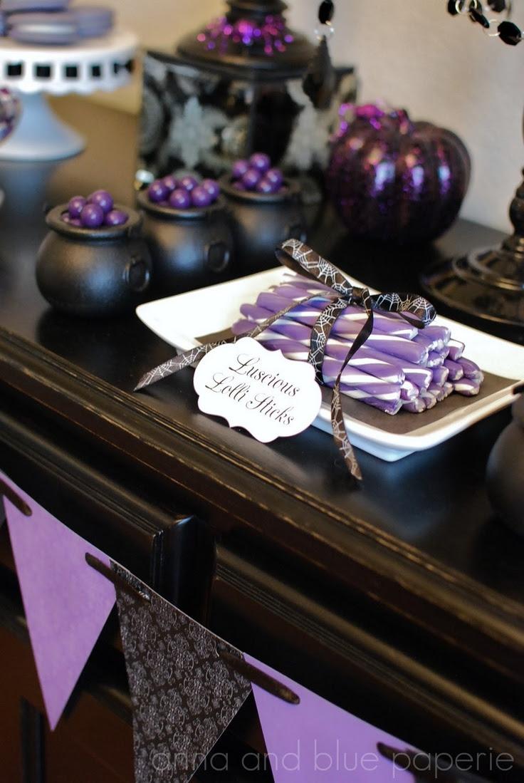 41 Stunning Purple Halloween Decor Ideas Interior God
