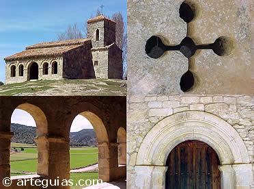 Diferentes aspectos de esta ermita prerrománica