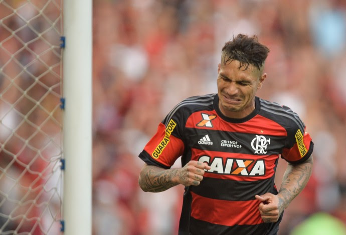 Guerrero Flamengo x São Paulo choro (Foto: Estadão Conteúdo)
