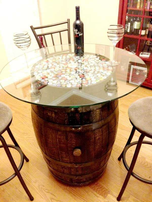 25 Brilliant Diy Ways Of Reusing Old Wine Barrels Amazing Diy