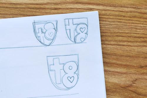 crest sketches