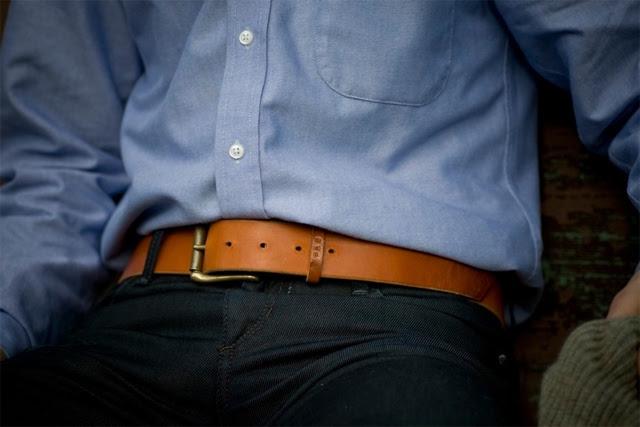 Palmer & Sons Leather Belt No 15a 05