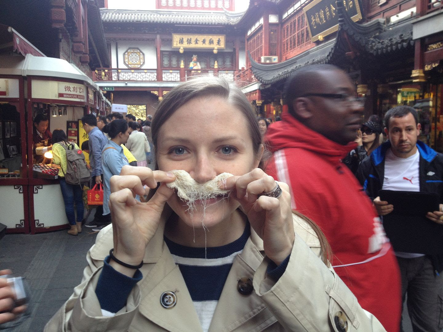 Trying Dragon Mustache in Shanghai in October--City God Temple/Yu Garden photo 2013-10-27155756_zps96ef9012.jpg