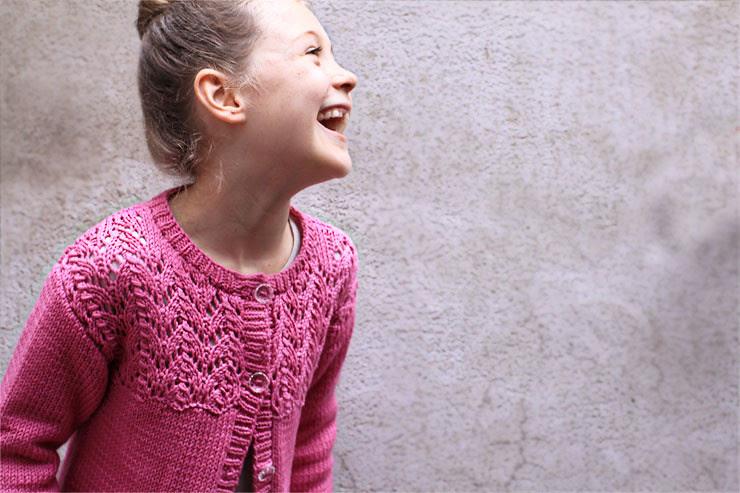 Pink Cardigan #1