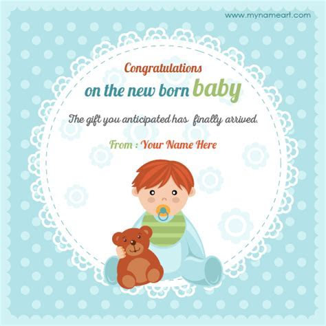 Create Online Congratulations On New Baby Born Picture
