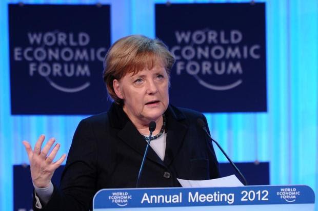 """""""Não queremos prometer algo que não possamos cumprir"""", diz Merkel Vincenzo Pinto/AFP"""