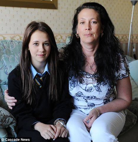 Dread: Sarah Roffey said she sat by her daughter's hospital bed planning her funeral